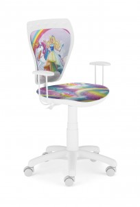 Krzesło Ministyle White Barbie 2 - zdjęcie 1