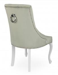 Krzesło Sisi 3 z pinezkami i kołatką, nogi Ludwik - zdjęcie 5