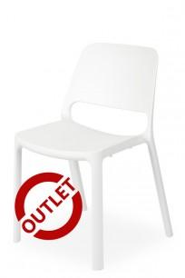 Krzesło Capri BIAŁY - OUTLET