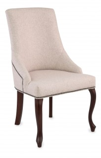 Krzeslo Alexis 2 Ludwik z pinezkami, nogi Ludwik
