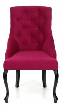 Krzesło Sisi 2 z pinezką, nogi Ludwik - zdjęcie 9