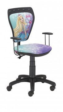 Krzesło Ministyle Black Barbie 4 - 24h