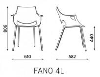 Krzesło Fano - zdjęcie 3