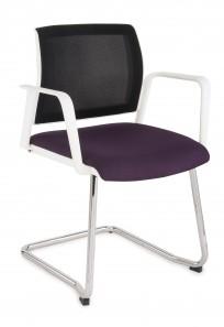 Krzesło Set Net V Arm White - 24h