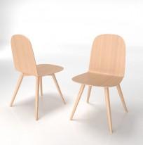 Krzesło Malmo wood - zdjęcie 7