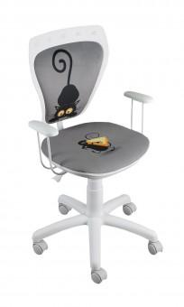 Krzesło Ministyle White Kot i Mysz - zdjęcie 3