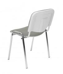 Krzesło Iso bianco chrome - zdjęcie 6