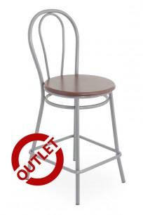 Krzesło Tulipan wood 78 alu