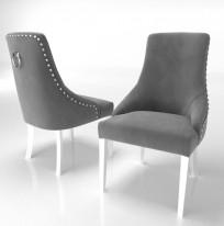 Krzesło Alexis 3, pinezki i kołatka - zdjęcie 12