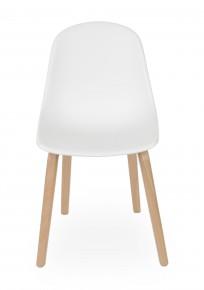 Krzesło Piano wood Biały - zdjęcie 3