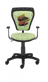 Krzesło Ministyle Black Hot Wheels 2