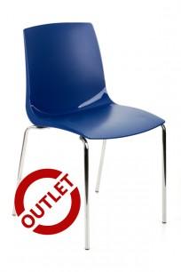 Krzesło Ari niebieskie - OUTLET