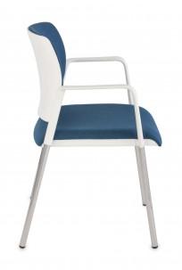 Krzesło Set Arm White - zdjęcie 3