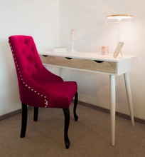 Krzesło Sisi 2 z pinezką, nogi Ludwik - zdjęcie 6