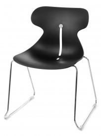 Krzesło Mariquita P CZARNY - outlet - zdjęcie 4