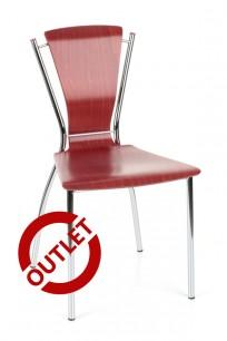 Krzesło Dorino chrome - OUTLET