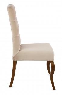 Krzesło Astoria pikowanie Chesterfield, nogi Ludwik - zdjęcie 3