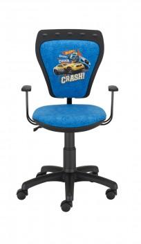 Krzesło Ministyle Black Hot Wheels 1 - 24h - zdjęcie 3