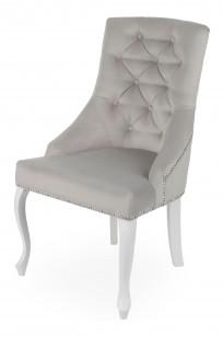 Krzesło Sisi 2 z pinezką, nogi Ludwik - zdjęcie 11