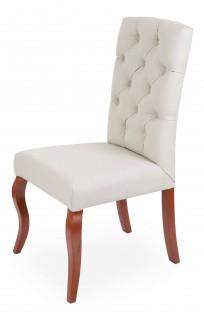 Krzesło Astoria pikowanie Chesterfield, nogi Ludwik - zdjęcie 12