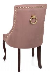 Krzesło Sisi 3 z pinezkami i kołatką, nogi Ludwik - zdjęcie 9