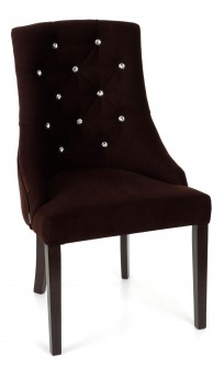 Krzesło Cristal z kryształkami - zdjęcie 17