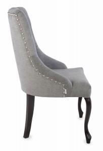 Krzesło Sisi 2 z pinezką, nogi Ludwik - zdjęcie 3