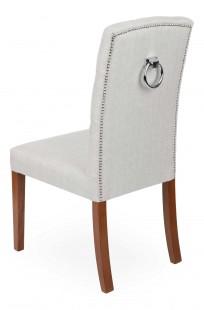 Krzesło Astoria Chesterfield 3 z pinezkami i kołatką - zdjęcie 9