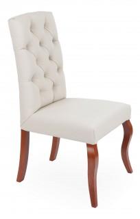 Krzesło Astoria pikowanie Chesterfield, nogi Ludwik - zdjęcie 13