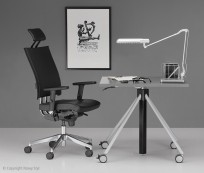 Fotel @Motion R HR steel - zdjęcie 5