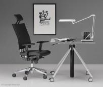 Fotel @-Motion U R HRU steel - zdjęcie 3