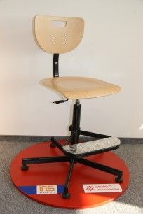 Krzesło Werek steel Foot Base - zdjęcie 3