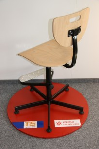 Krzesło Werek steel Foot Base - zdjęcie 5