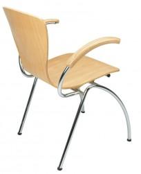 Krzesło Bingo Arm wood - zdjęcie 4