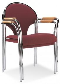 Krzesło Ibis Arm chrome