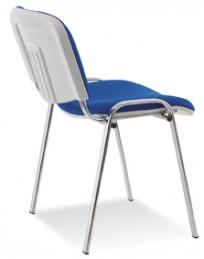 Krzesło Iso bianco chrome - zdjęcie 3