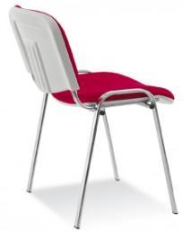 Krzesło Iso bianco chrome - zdjęcie 4