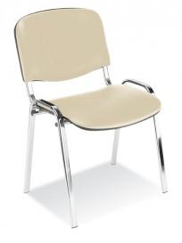 Krzesło Iso bianco chrome - zdjęcie 5