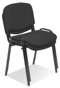 Krzesło Iso black - 24h - zdjęcie 4