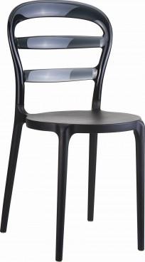 Krzesło Miss Bibi Black - 24h - zdjęcie 3
