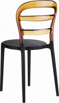 Krzesło Miss Bibi Black - 24h - zdjęcie 5