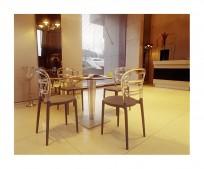 Krzesło Miss Bibi Black - 24h - zdjęcie 7
