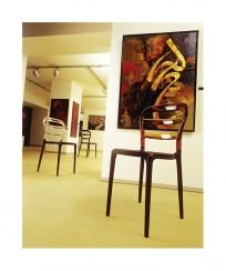Krzesło Miss Bibi Black - 24h - zdjęcie 8